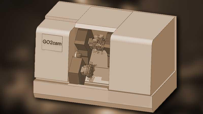 GO2cam Simulazione CNC